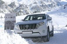 В Алматы презентовали новый Toyota Land Cruiser Prado