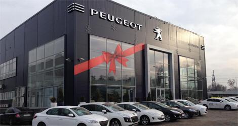 Peugeot Allur Auto, Алматы, пр. Суюнбая, 159 А, уг. ул. Рыскулова
