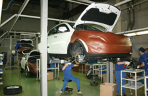 За пять лет производство автомобилей в РК выросло в 11,5 раз