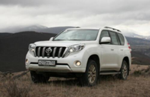 Toyota Land Cruiser Prado – именно внедорожник!