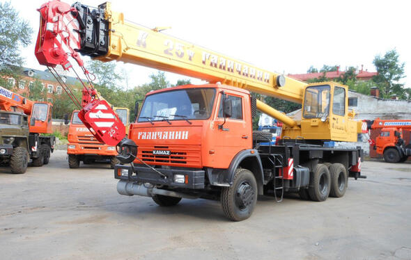 Галичанин КС-55713 (КамАЗ 65115)