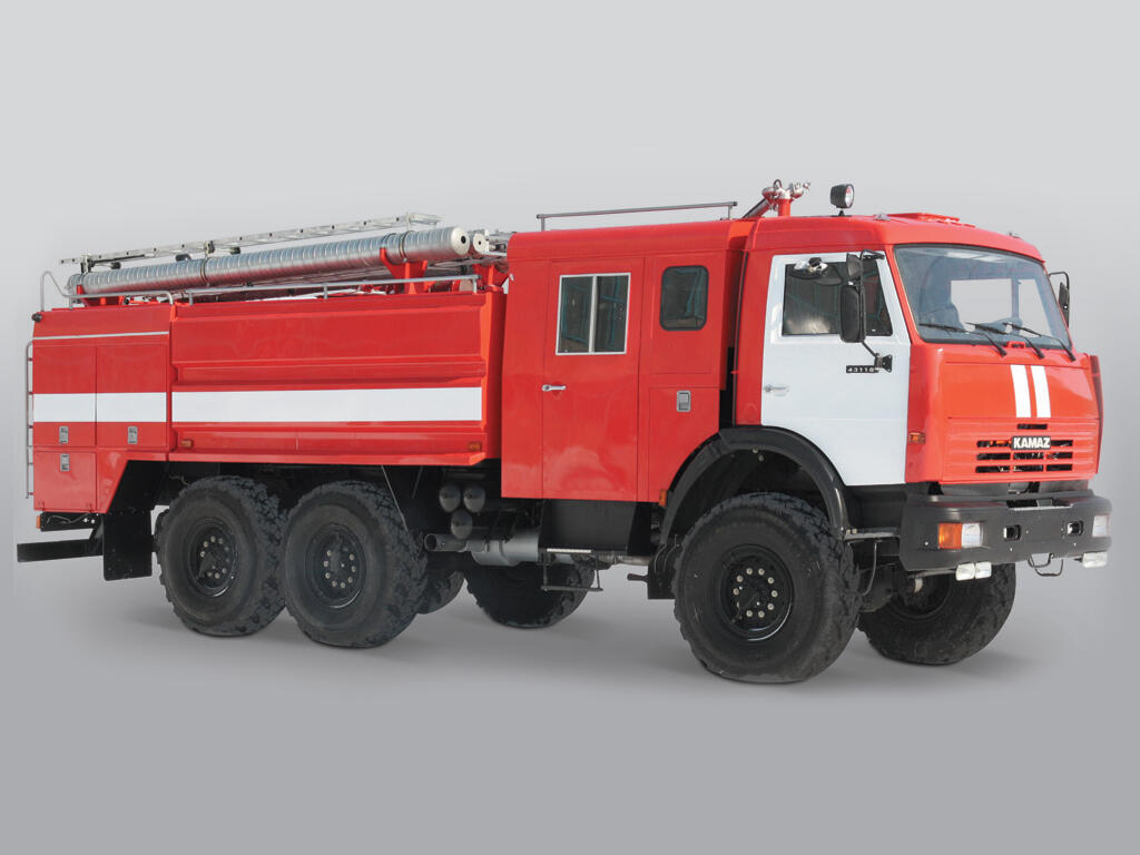Автоцистерна пожарная АЦ–6, -4 /1 (43118) - Завод