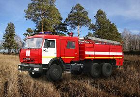 Урал Пожтехника (Миасс) АЦ 8.0 (КамАЗ 65111)