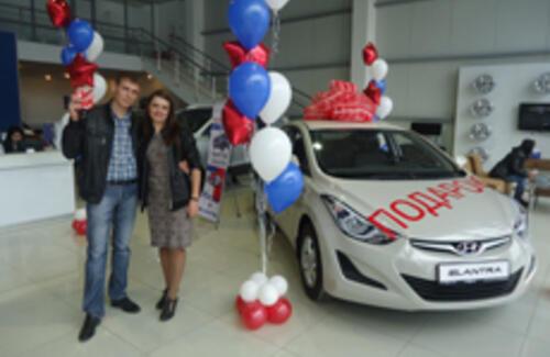 Акция в автоцентрах Hyundai