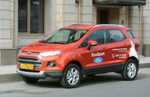 Ford EcoSport – новый формат городского «компакта»