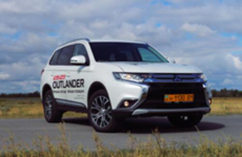 Mitsubishi Outlander: пришествие «Х-фэйса»