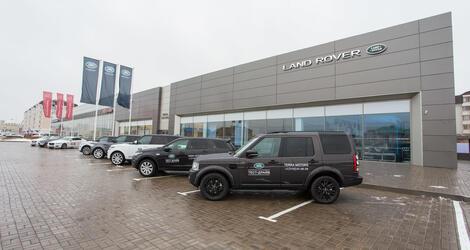 Jaguar Land Rover, Астана, Кургальжинское шоссе, 7