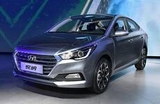 В Китае представили новый Hyundai Accent