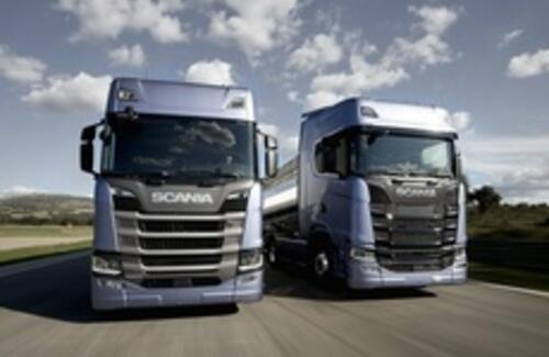 Scania представила новый модельный ряд грузовиков