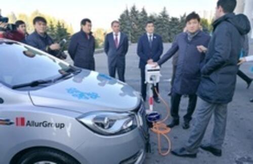 Аким города Бауржан Байбек развивает инфраструктуру для электромобилей в  Алматы