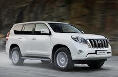 Китайцы скрестили Toyota Land Cruiser 200 и Toyota Land Cruiser Prado