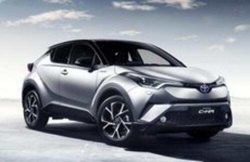 Toyota C-HR появится в Казахстане