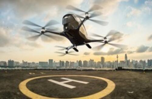В Дубае запускают первое летающее такси