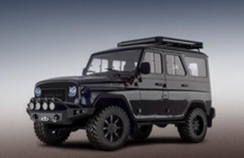 """UAZ Hunter наконец-то составит конкуренцию """"Гелендвагену"""""""