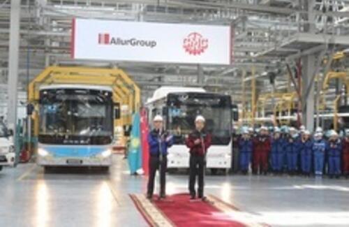 AllurGroup приступает к серийному производству автобусов Ankai