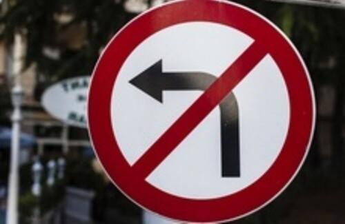 В Астане запретят левый поворот