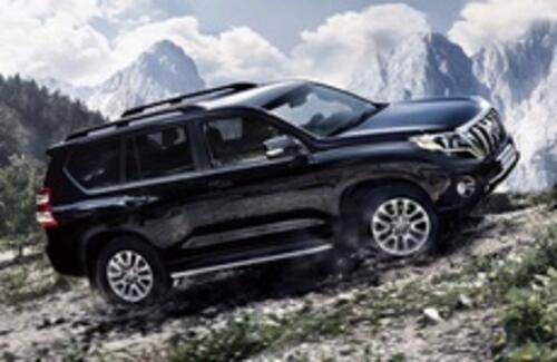 Toyota готовит новый Land Cruiser Prado