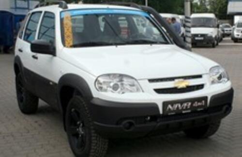 Chevrolet Niva – рожден для бездорожья, собран в Казахстане