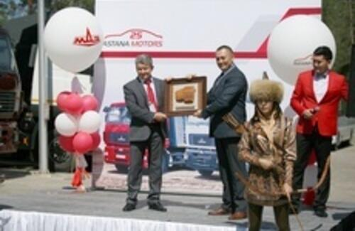 В Казахстане запущено серийное производство автотехники МАЗ