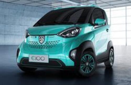 Китайцы представили самый дешевый в мире электромобиль