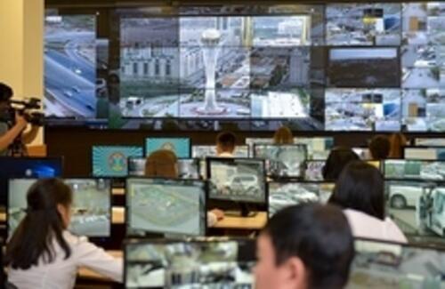 Все перекрестки в Астане оснастят видеокамерами