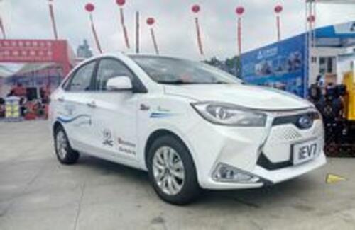 Электромобили JAC представлены на ЭКСПО «Китай-АСЕАН»