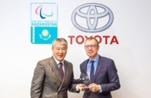 Toyota в партнерстве с НПК будут продвигать паралимпийский спорт в Казахстане