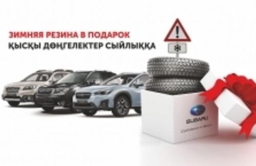Зимние шины в комплектации к машине