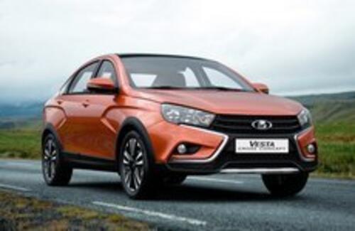 «АвтоВАЗ» готовит вседорожный седан Lada Vesta Cross
