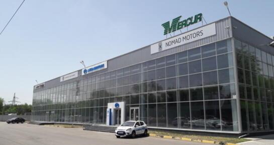 Nomad Motors Almaty, Алматы, ул. Майлина, 79/2, уг. ул. Капальской (а/ц Nomad Motors)