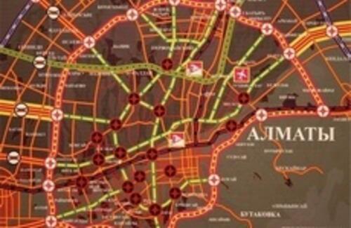 Большая кольцевая дорога в Алматы будет платной