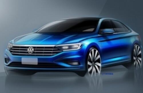 Volkswagen раскрыл дизайн нового седана Jetta