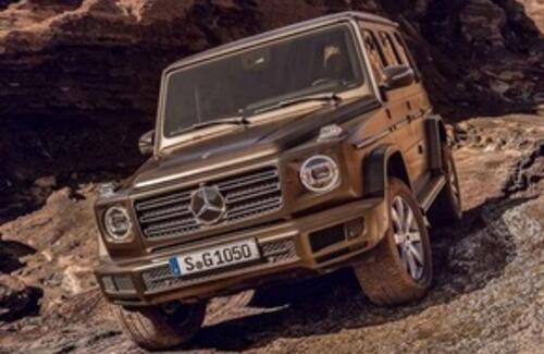 Новый Mercedes-Benz G-Class полностью рассекречен