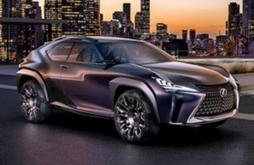 Самый дешевый кроссовер Lexus представят в марте