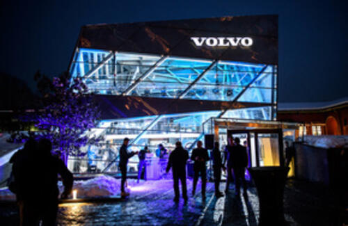 Открытие дилерского центра Volvo Car Almaty