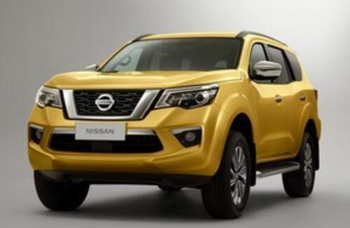 Nissan показала новый рамный внедорожник