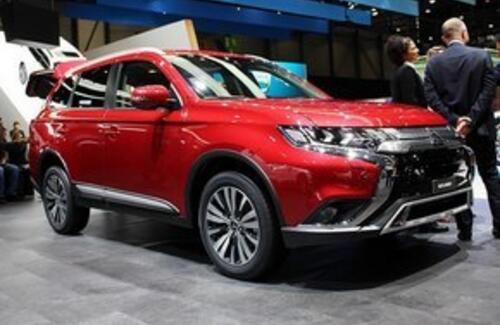 В Женеве представили новый Mitsubishi Outlander