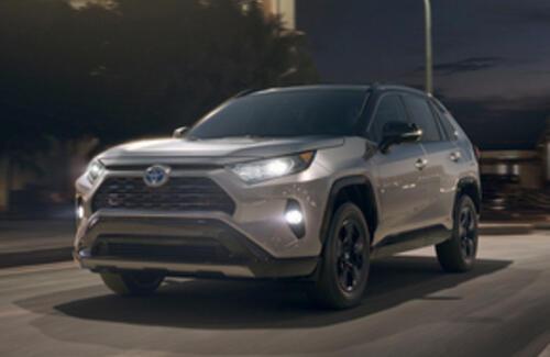 Toyota представила новый RAV4