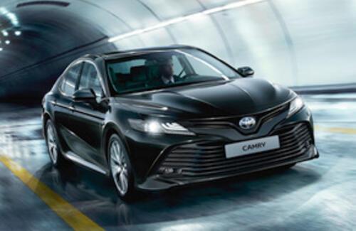 Новая Toyota Camry 70 выходит на казахстанский рынок