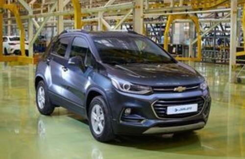 На заводе «АЗИЯ АВТО» приступили к производству обновленного Chevrolet Tracker