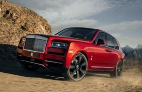 Rolls-Royce представила первый в истории марки внедорожник