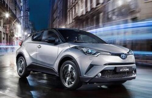 Toyota C-HR выходит на рынки Таможенного Союза