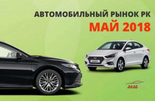 Казахстанский автомобильный рынок в мае 2018 года