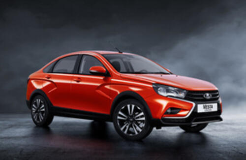 В России стартовали продажи «внедорожной» Lada Vesta