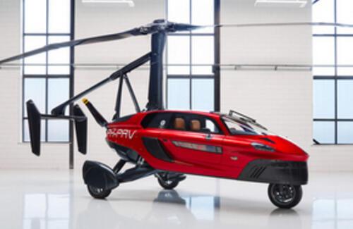 В Европе начались продажи первого летающего автомобиля