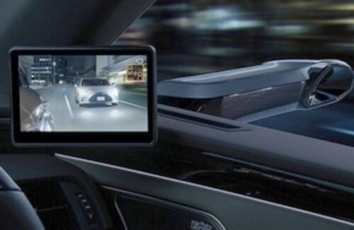 Автомобили Lexus лишатся боковых зеркал