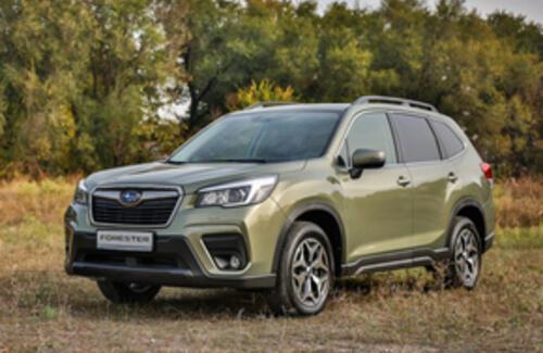 Новый Subaru Forester презентован в Казахстане