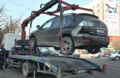 У алматинцев будут изымать автомобили за неуплату штрафов