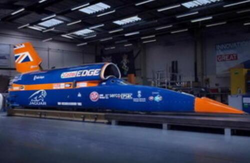 Самый быстрый в мире автомобиль выставили на продажу