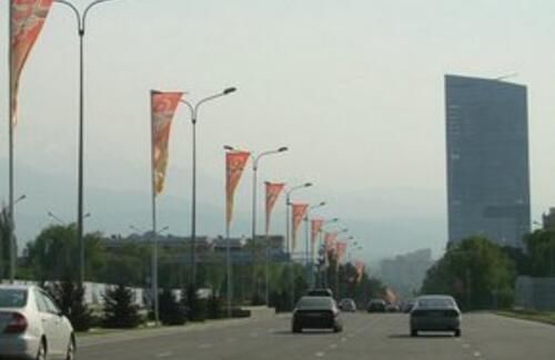 На главных магистралях Алматы ограничат скорость